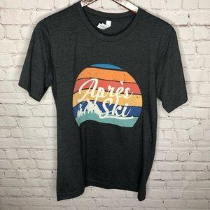 NEW Apres Ski Retro Mountains T-shirt